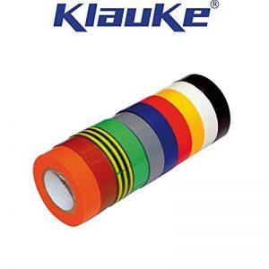 Klauke - 10 Ruban Isolant PVC usage courant Panaché de la marque KLAUKE 33 image 0 produit
