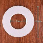 KUUQA Ruban autocollant Ruban adhésif double face Auto-adhésif, autocollant Pour les bricolages, le bois, le verre, les documents du bureau,12mm x 70m de la marque KUUQA image 2 produit