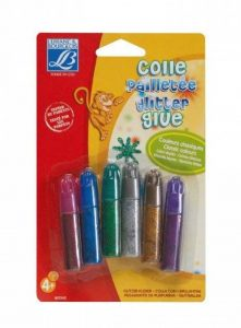 Lefranc & Bourgeois Colle Pailletee Classic 6 Tubes de 5,5ml de la marque Lefranc & Bourgeois image 0 produit