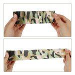 Lictin 7 PCS Ruban Adhésif Bande de Camouflage Réutilisable Camouflage Tapes Auto-adhésif Non-tissé Pour la Décoration des Objets Vert de la marque Lictin image 1 produit