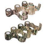 Lictin 7 PCS Ruban Adhésif Bande de Camouflage Réutilisable Camouflage Tapes Auto-adhésif Non-tissé Pour la Décoration des Objets Vert de la marque Lictin image 3 produit