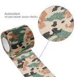 Lictin 7 PCS Ruban Adhésif Bande de Camouflage Réutilisable Camouflage Tapes Auto-adhésif Non-tissé Pour la Décoration des Objets Vert de la marque Lictin image 4 produit