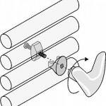 Linea Handy - Paire de Handy VIP–Porte-serviettes–Sans trou dans le carrelage et sans colle, ils se fixent directement sur votre sèche-serviettes-Blanc de la marque Linea Handy image 2 produit