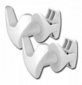 Linea Handy - Paire de Handy VIP–Porte-serviettes–Sans trou dans le carrelage et sans colle, ils se fixent directement sur votre sèche-serviettes-Blanc de la marque Linea Handy image 0 produit