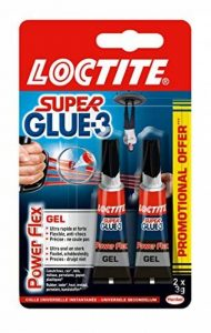 LOCTITE 1928787 SUPERGLUE-3 Lot de 2 * Power Flex 3gr de la marque Loctite image 0 produit