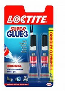 Loctite Super Glue-3 Original Lot de 2 tubes de colle Format économique de la marque Loctite image 0 produit