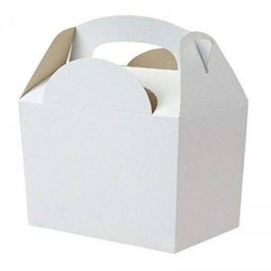 Lot de 30 boîtes en carton uni pour repas ou anniversaire 152 x 100 x 102 mm de la marque Mustbebonkers image 0 produit