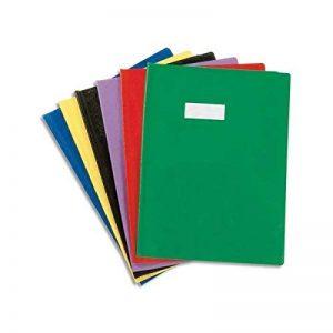 Lot de 5+1 protèges cahier 24x 32 couleurs ass de la marque neveu image 0 produit