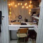 Lovefaye Bande de revêtement en papier autocollant style nordique blanc grain de bois pour meuble 45 x 298,7cm de la marque LoveFaye image 1 produit