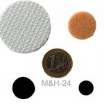 M&H-24 Set 248 Patins autocollants Tampon auto-adhésif en feutre pour pied meuble, chaise, table - Plusieurs formes Rond de la marque M&H-24 image 2 produit