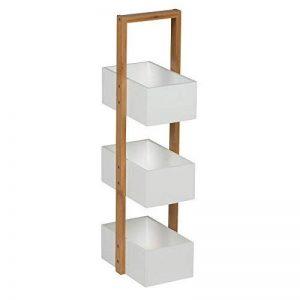 Maison Futée - Casier de rangement bambou - 3 paniers de la marque Maison Futée image 0 produit