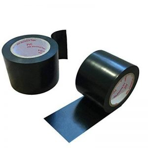 Maveek 2rouleaux électriques ruban adhésif 50mm * 15m Noir en Silicone étanche réparation ruban isolant de la marque Maveek image 0 produit