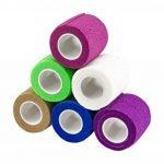 Medca Bandages Autocollant Cohésif Wrap 2 pouces X 5 Yards 6 Pièces (Couleur Arc-en-Ciel) de la marque MEDca image 2 produit