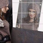 Miroirs décoratifs 16PCS DIY miroir autocollants mosaïque, YTAT surface du miroir Wall Stickers Décor 15 * 15 cm, décalque Accueil Acrylique 3D Accueil décalcomanies de la marque YTAT image 2 produit