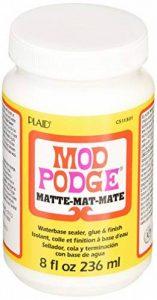 Mod Podge Colle et finition à base d'eau - Transparent, mat, 8 Oz de la marque Mod Podge image 0 produit