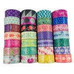Moeup–Lot de 10rubans adhésifs, couleurs assorties de la marque aufodara image 2 produit