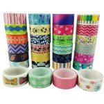 Moeup–Lot de 10rubans adhésifs, couleurs assorties de la marque aufodara image 4 produit