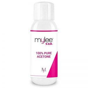 Mylee Acétone 100 % Pure Dissolvant Pour Ongles De Qualité Supérieure Enlève Le Gel UV/LED (300ml) de la marque MYLEE image 0 produit