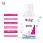 Mylee Acétone 100 % Pure Dissolvant Pour Ongles De Qualité Supérieure Enlève Le Gel UV/LED (300ml) de la marque MYLEE image 4 produit