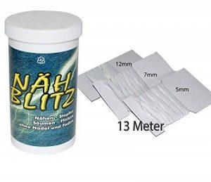 nähblitz en kit: plastique Granulés–Textile et colle caoutchouc Toron, bande élastique en trois tailles de la marque all-around24® image 0 produit