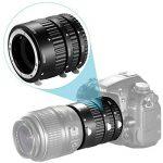 Neewer Ensemble de tubes d'extension 12mm, 20mm, 36mm pour Nikon appareils photo réflex numériques AF mise au point automatique ABS D7200, D7100, D7000, D5300, D5200, D5100, D5000, D3300, D3200, D3000, D40, D40x, D100, D200, D300, D3, D3S, D700, D90 de image 2 produit