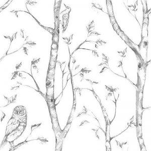 NuWallpaper Bois Gris Peel et Stick Papier peint de la marque NuWallpaper image 0 produit