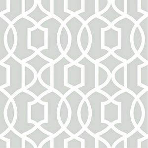 NuWallpaper treillis gris grand Peel et Stick Papier peint de la marque NuWallpaper image 0 produit