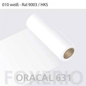 Oracal 631 Rouleau de papier adhésif pour meuble Mat 31cm x 5 m, blanc, 5 m x 31 cm de la marque Your Design image 0 produit
