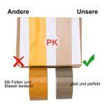PACKTAPE Ruban d'emballage Rubans adhésifs marron Ruban d'emballage 6 rouleaux 48 mm x 66 m pour colis et boîtes de la marque PACKTAPE image 3 produit
