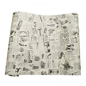 Papier journal de contact papier auto-adhésif vinyle étagère tiroir liner pour meubles Arts Artisanat décor à la maison 60 x 300 cm de la marque MayGreeny image 0 produit