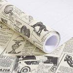 Papier journal de contact papier auto-adhésif vinyle étagère tiroir liner pour meubles Arts Artisanat décor à la maison 60 x 300 cm de la marque MayGreeny image 2 produit