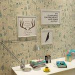 Papier journal de contact papier auto-adhésif vinyle étagère tiroir liner pour meubles Arts Artisanat décor à la maison 60 x 300 cm de la marque MayGreeny image 3 produit