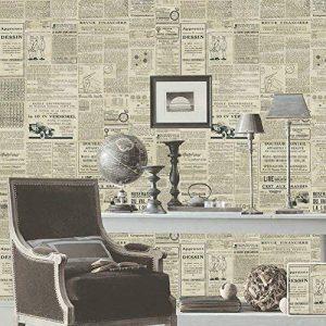 Papier peint Autocollant Salon Décoratif, cuisine, chambre à coucher Autocollants Muraux Européens Universels (Journal) de la marque SKY TEARS image 0 produit