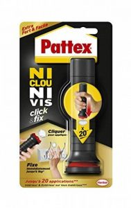 Pattex 2312983 Ni Clou Ni Vis « Click and Fix » - Colle de fixation avec applicateur doseur de la marque Pattex image 0 produit