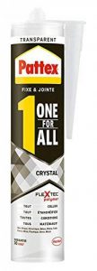 Pattex Colle de fixation One For All Crystal - 290 g - Transparent de la marque Pattex image 0 produit
