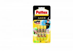 Pattex Junior Super stick Tube de colle Transparent - Super stick 11g - lot de 3 de la marque Pattex image 0 produit