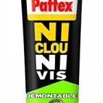 """Pattex Tube de Colle """"Ni clou ni vis"""" Démontable - 100 g - Blanc de la marque Pattex image 1 produit"""