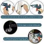 Pistolet à Colle Professionel 100W Armes Chaude avec 20 pcs 200mm Bâtonnets de Colle WEINAS® Haute Température DIY Artisanat de la marque WEINAS image 3 produit