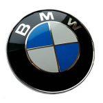 Plaque de remplacement emblème sur le capot avant bleu/blanc 82mm Logo autocollant capot Tuning de la marque Dunwoth image 4 produit