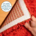 PMI Ruban adhésif en Velcro, blanc–longueur 5m, largeur env. 20mm–Fixation sûr, extra forte, pour travaux de maison, bricolage, travaux manuels, mâle et femelle de la marque iLP image 3 produit