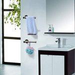 Porte-Papier Toilette Mural, MEZOOM Support Papier en acier inoxydable Rouleau papier WC adhesif pour Salle de bain de la marque MEZOOM image 3 produit