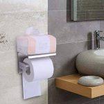 Porte-papier Toilette, Sans Perçage, Installations De Bain, Acier Inoxydable 304, Adhésif 3 M Autocollant de la marque vanow image 2 produit
