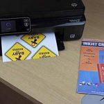 PPD A4 jet d'encre brillant vinyle auto-adhésif papier autocollant 20x Feuilles de la marque Photo Paper Direct image 1 produit