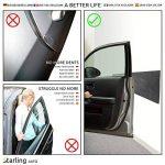 Protecteur de porte de voiture Starling Auto | ÉDITION PREMIÈRE | 2 bandes de mousse auto-adhésives pour le mur de votre garage | Extra Large (200 cm x 25 cm x 6 mm) de la marque Starling Auto image 1 produit