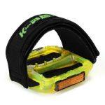 PsmGoods® vélos Fixie Pédale avec double attache Velcro pour BMX Pignon fixe orteil Sangles Clip noir Noir 1 Paire de la marque PsmGoods image 1 produit