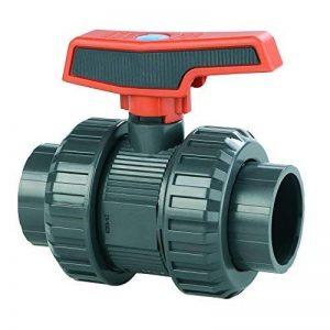 PVC–U Robinet à boisseau sphérique Manchon 32mm PN16 de la marque Boni-Shop® image 0 produit