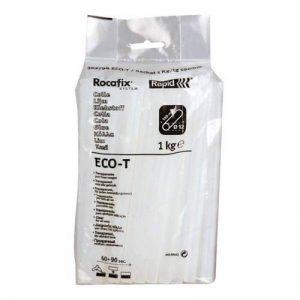 Rapid, 40302798, Bâtons de colle thermofusible, Eco-T, Transparente, ø12mm, Longueur 190mm, 1kg de la marque Rapid image 0 produit