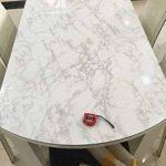 Revêtement autocollant gris marbre - Pour meubles, plans de travail et murs - 61x 200,7cm de la marque MayGreeny image 3 produit