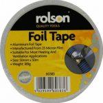 Rolson60383 Ruban adhésif en feuille d'aluminium 50mm de la marque Rolson image 1 produit