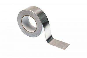 Ruban adhésif en feuille d'aluminium–50m–Haute Qualité Heavy Duty Premium Rouleau par Gocableties, argent de la marque Gocableties image 0 produit